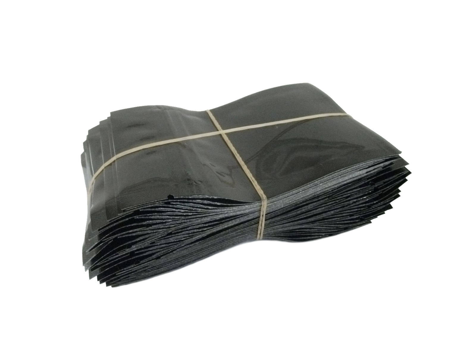 Mylar Pouch - 7.5cm x 10cm - Black