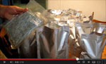 Storing Food in Mylar Bags Video